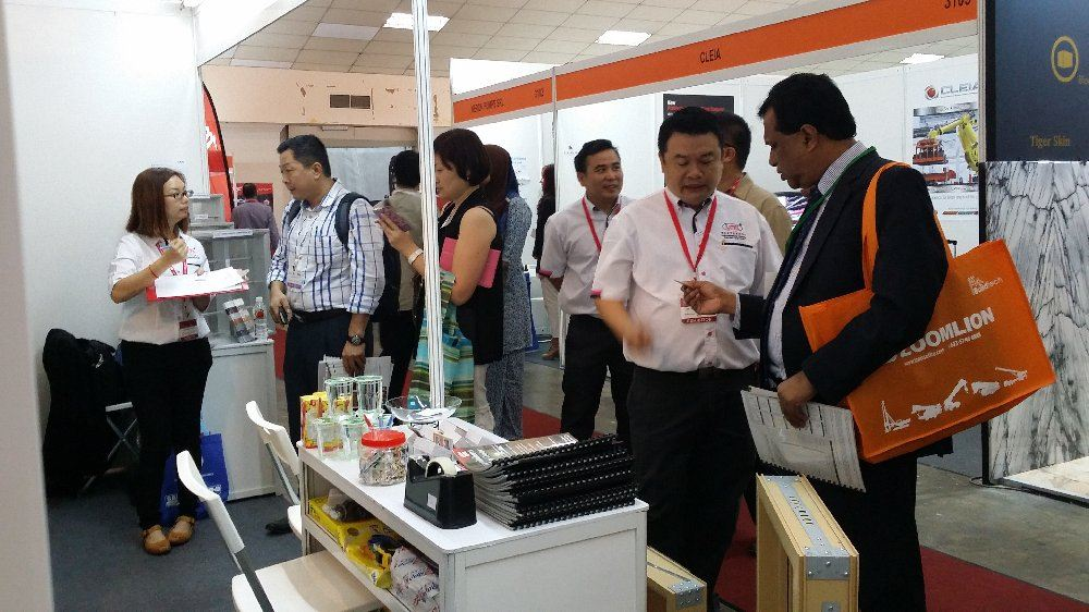 At Buildtech exhibition PWTC