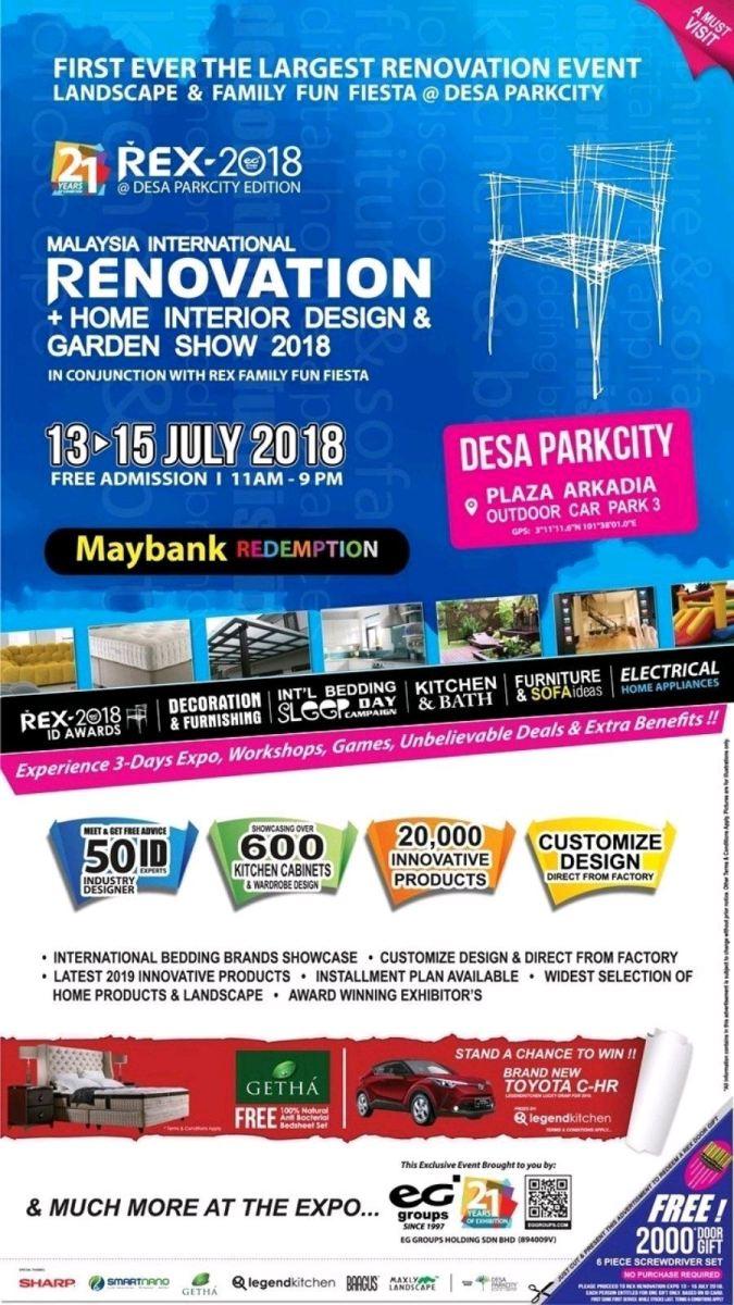 Home Renovation Exhibition Desa Park City