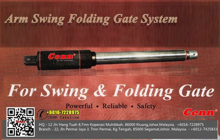 Autogate Swing Arm folding Gate Segamat Johor, kuantan, Kemaman