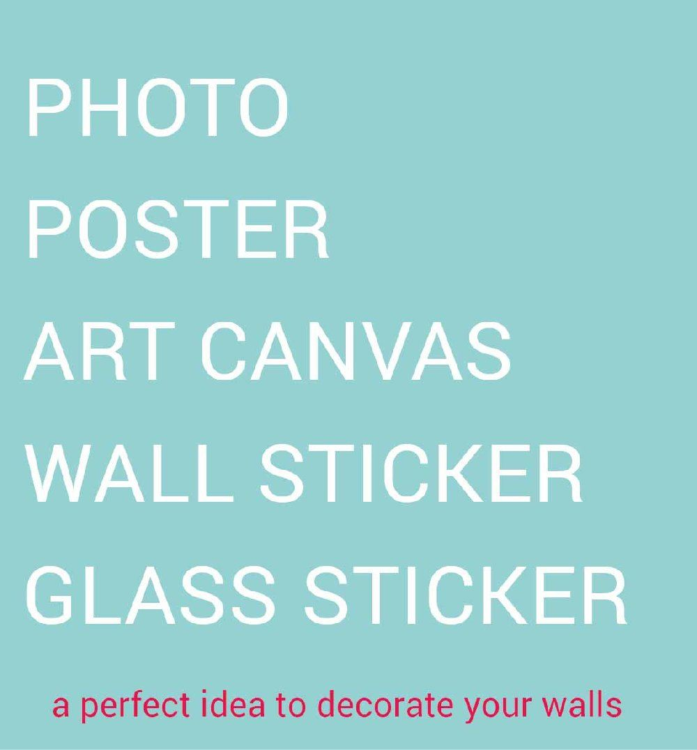 wallpaper printing / photo canvas
