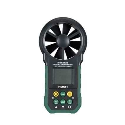 3 in 1 Anemometer: Air Flow, Temperature & R. Humidity Meter