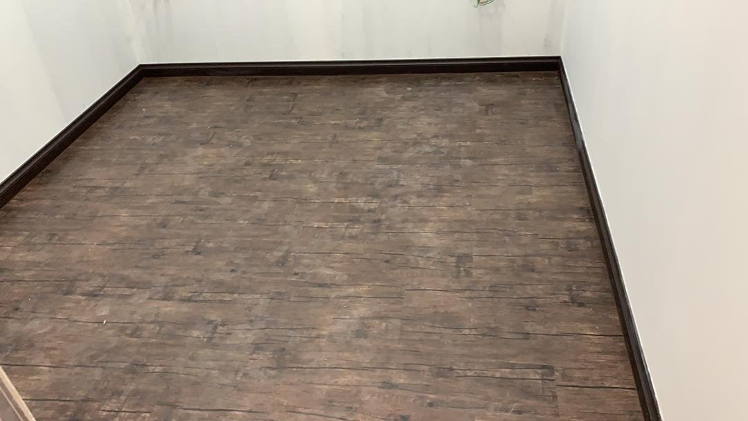 3mm Korea Vinyl Tiles - Cocoa Walnut ( KV-1105 )