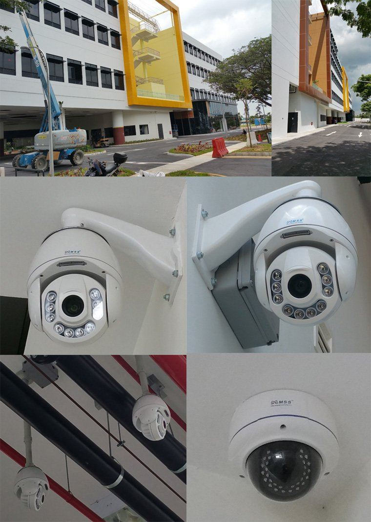 CCTV for Enterprise Logistic Centre