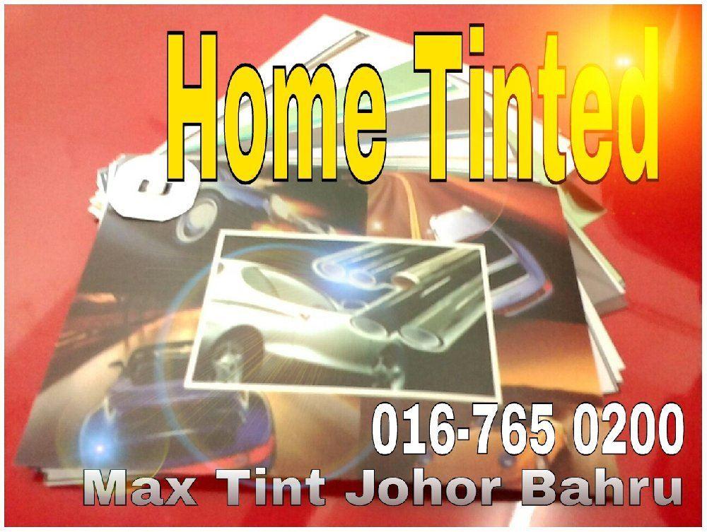 Pasang Tinted Percuma weeken RM0 Transpot @ Pasir Gudang / Masai