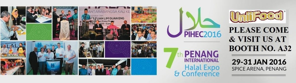 7th Penang International Halal Expo & Conference (PIHEC) 2016