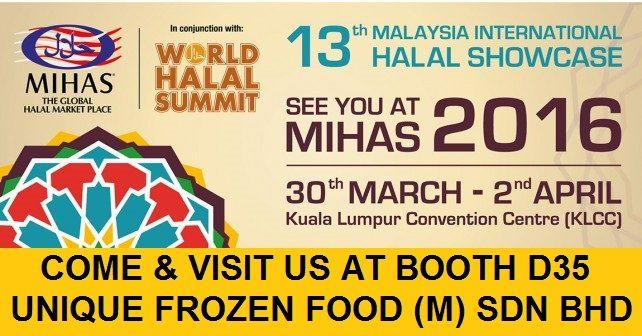 13th Malaysia International Halal Showcase (MIHAS)