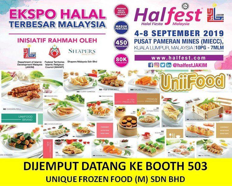 UniiFood @ HALAL FESTIVAL MALAYSIA (HalFest) 2019