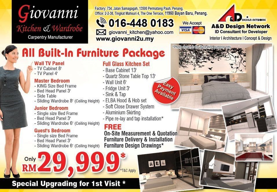 All Built in furniture package
