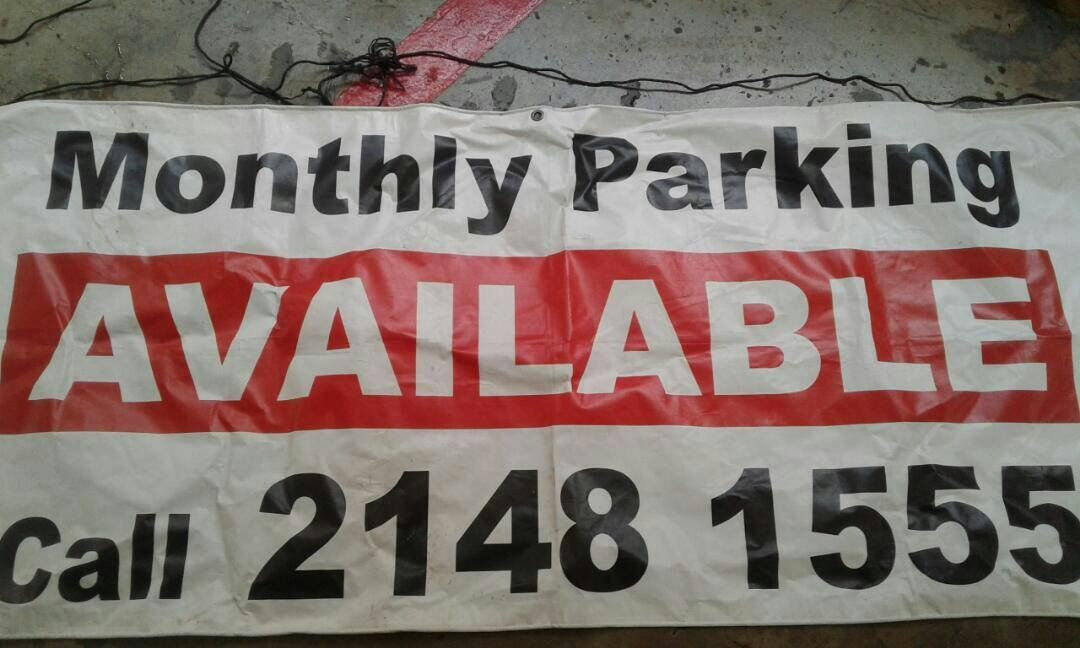 Monthly Parking Available