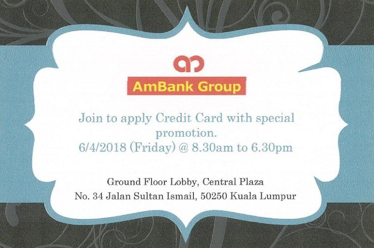 AmBank Group Special Promotion (6/4/2018)