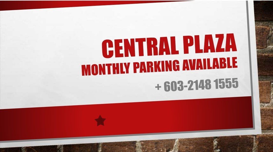 Monthly Carpark Available