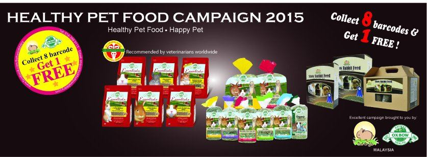 Healthy Pet food Campaign 2015