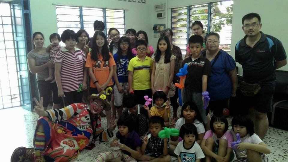 CHARITY PERFORMANCE AT SEGAMAT CALVARY CHILDREN HOME