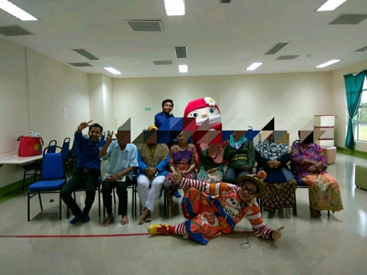 Hospital Care Charity Project at Kompleks Onkologi Yayasan Tunku Laksamana Johor