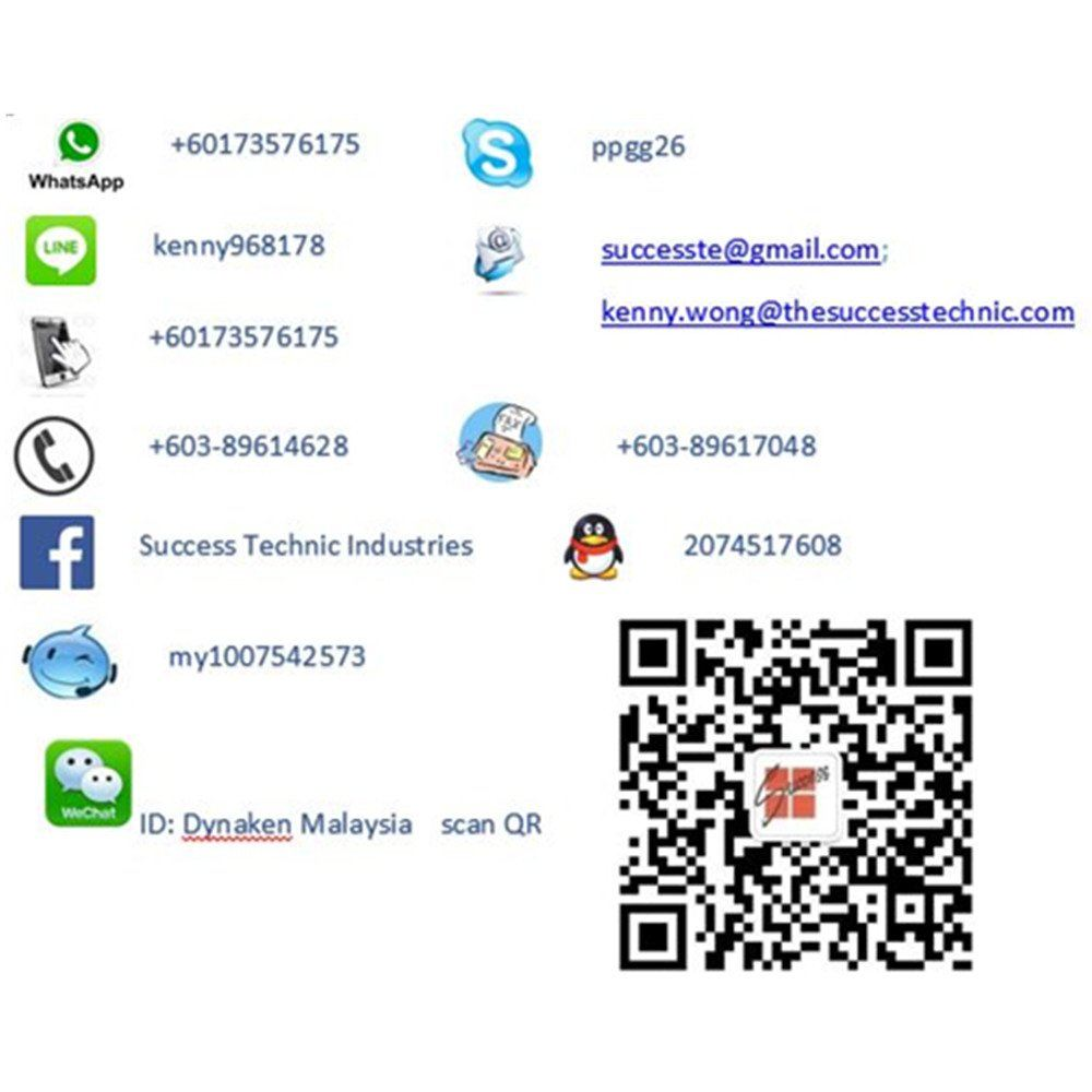 "Success Technic Industries launch wechat ofiicial account ""Dynaken Malaysia"""