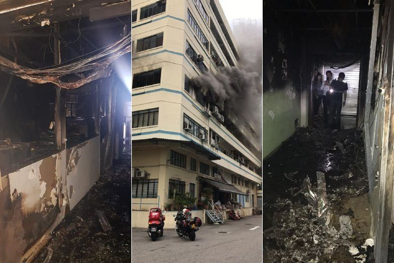 Fire causes 0k worth of damage to Jalan Rajah office unit