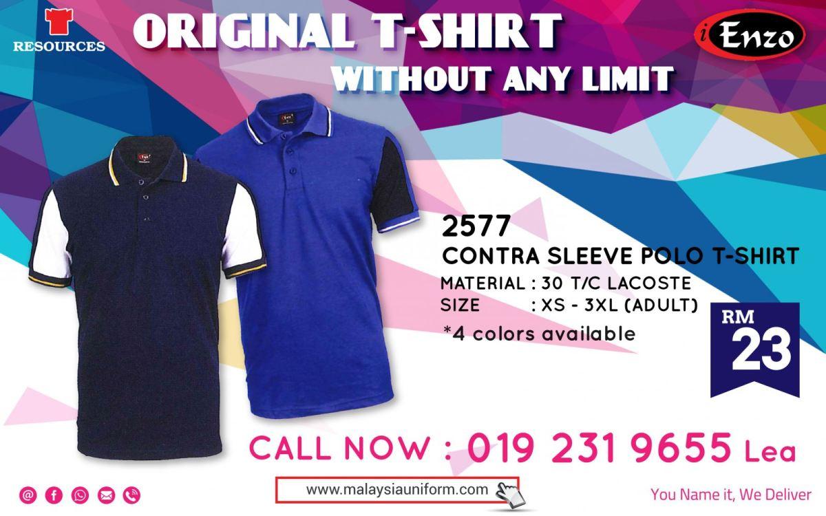 2577 Polo T-shirt Promo