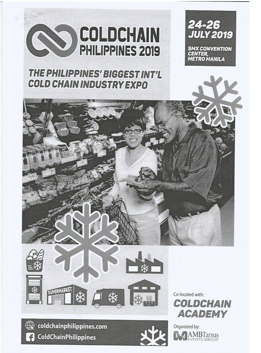 LOOK FORWARD TO THE VISIT ( COLDCHAIN PHILIPPINES 2019)