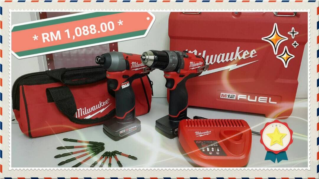 Milwaukee Fuel Brushless Compact Percussion Drill