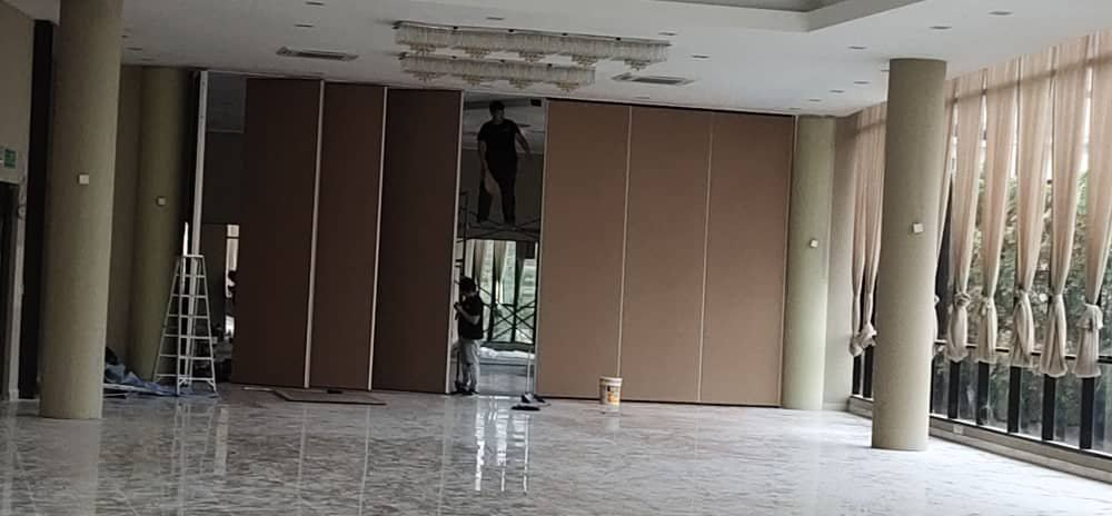 Supply & install Soundproof Operable Wall At Aberdeen Clubhouse Cyberjaya