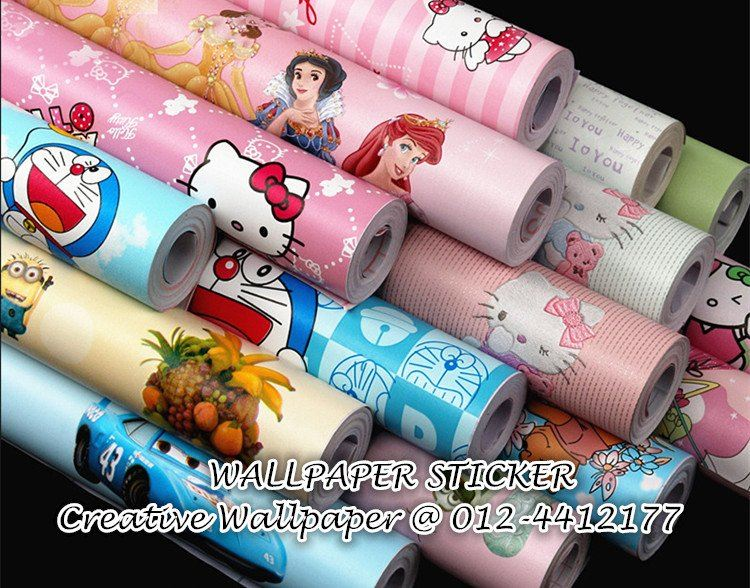 Self-adhesive PVC Wallpaper Sticker
