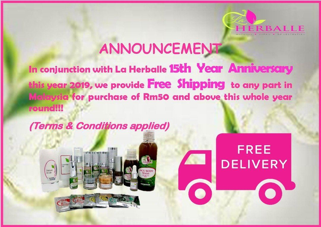 FREE SHIPPING FOR 15TH YEAR ANNIVERSARY