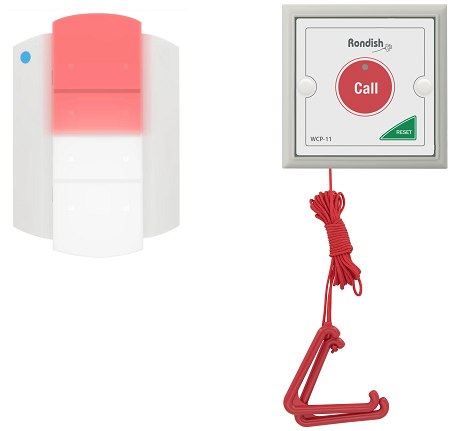 OKU Disable Toilet Bathroomn Nurse Emergency Call bell System