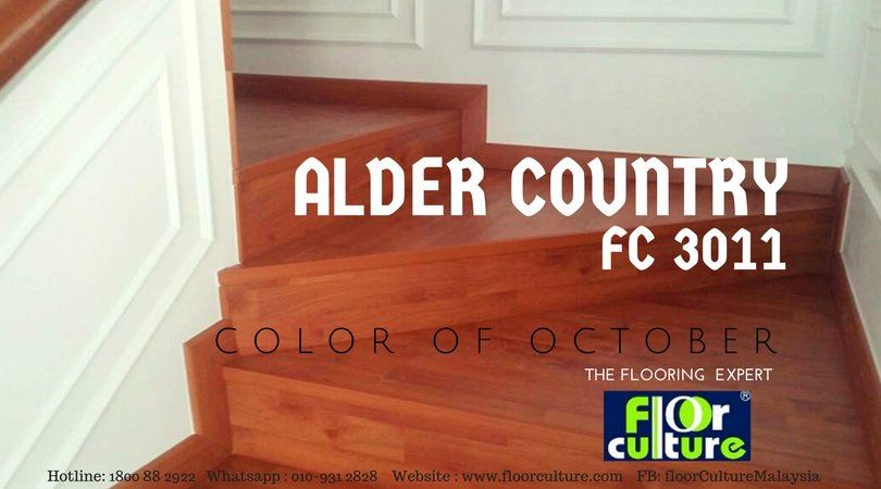 COLOR OF THE MONTH, OCTOBER 2017 (FC 3011 - ALDER COUNTRY)