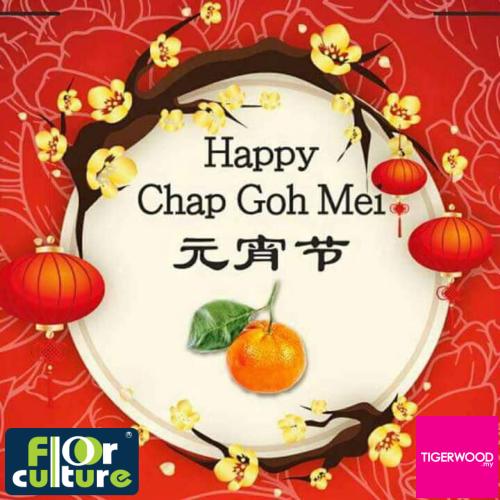 Happy Chap Goh Mei!