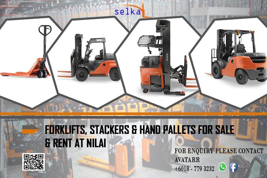 Forklift for Rent Nilai, Sendayan & Seremban.