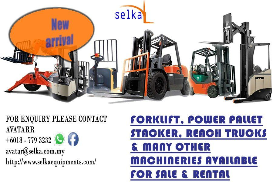 Forklift Rental, Repair, Buy Johor Bahru, Pasir Gudang, Gelang Patah, Nilai , Seremban , Sendayan
