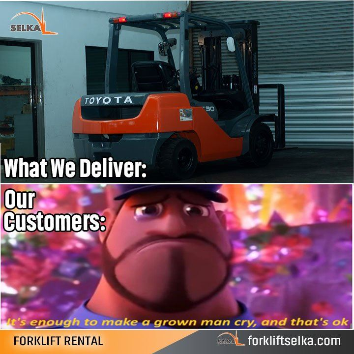 A simple forklift meme. LOL!!!