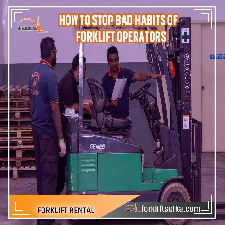 High quality forklift for rental