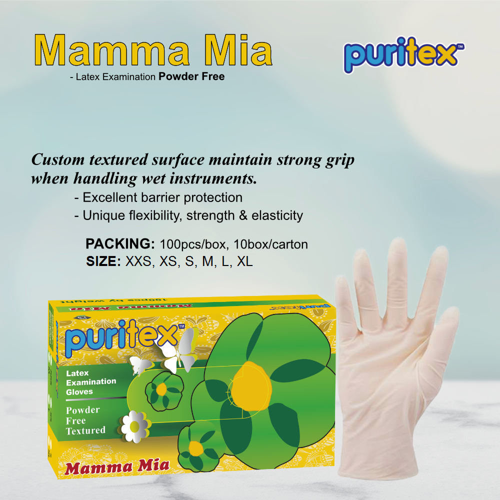 Latex Powder Free Gloves (Local or Export supply)