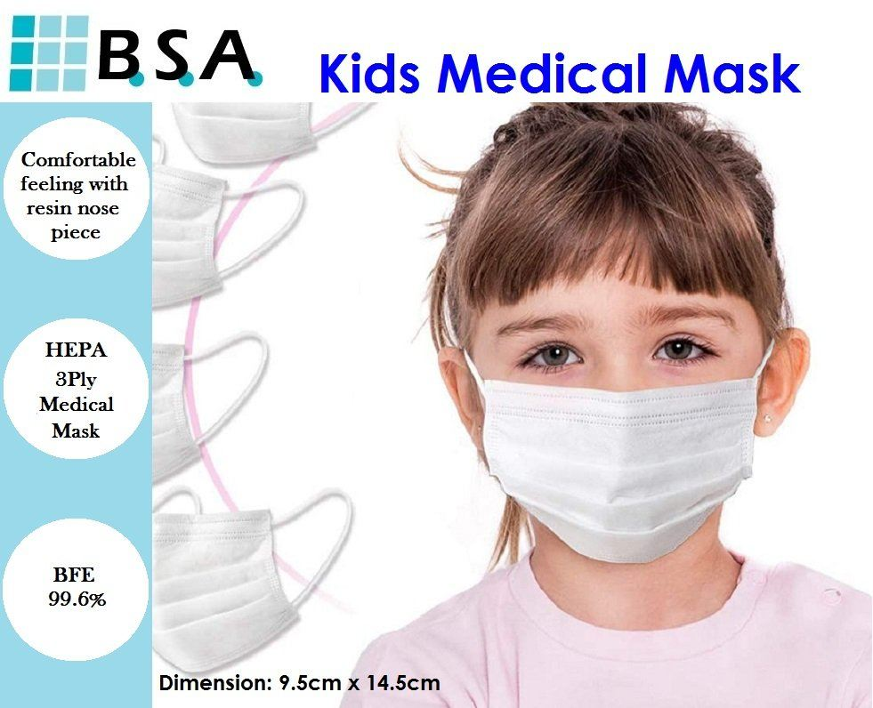 BACK TO SCHOOL PROMO!!! Kids Medical Mask is available!!!