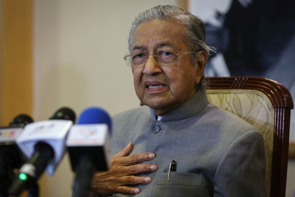 Third time's a charm? Dr Mahathir's newest party nominates him to be PM to save Malaysia again