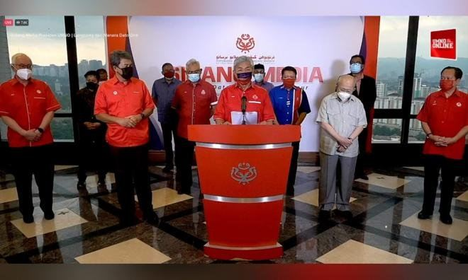 Umno declared to withdraw support for Perikatan, Muhyiddin