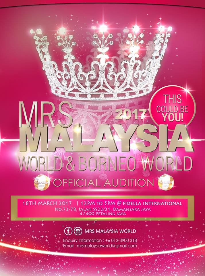 MyWonder Deepskin - Platinum Sponsor for Mrs. Malaysia World & Mrs. Borneo World 2017