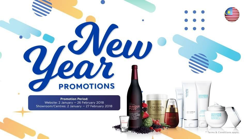 New Year Promotion (1/1/18 - 27/2/18)