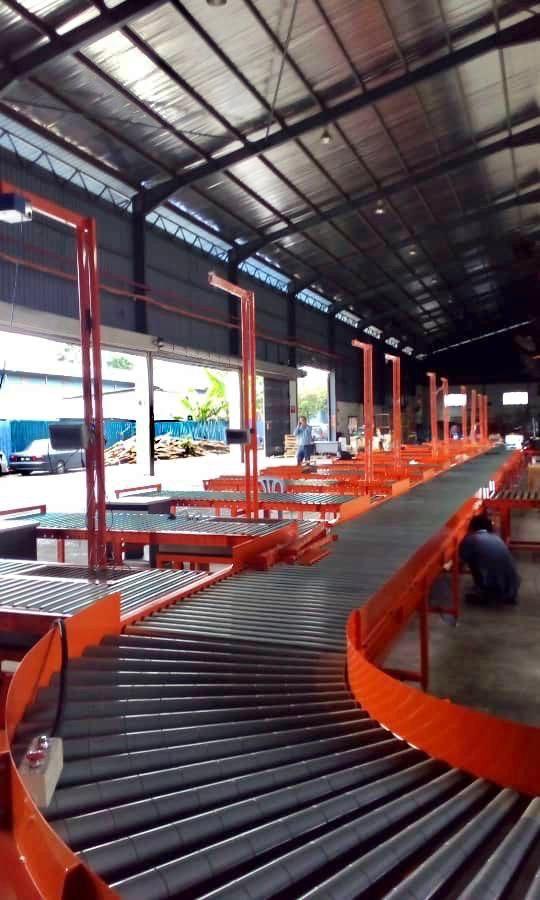 Logistic Warehouse Sorting Conveyor