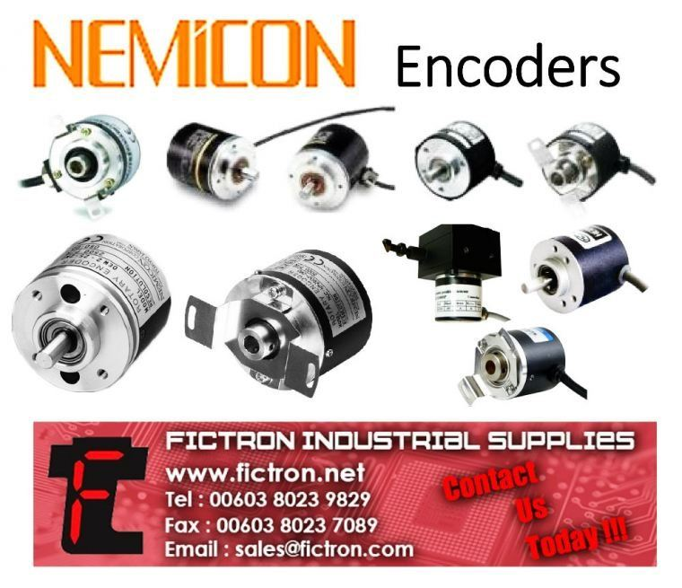 NEMICON ENCODER NEW SUPPLY BY FICTRON INDUSTRIAL SUPPLIES SDN BHD