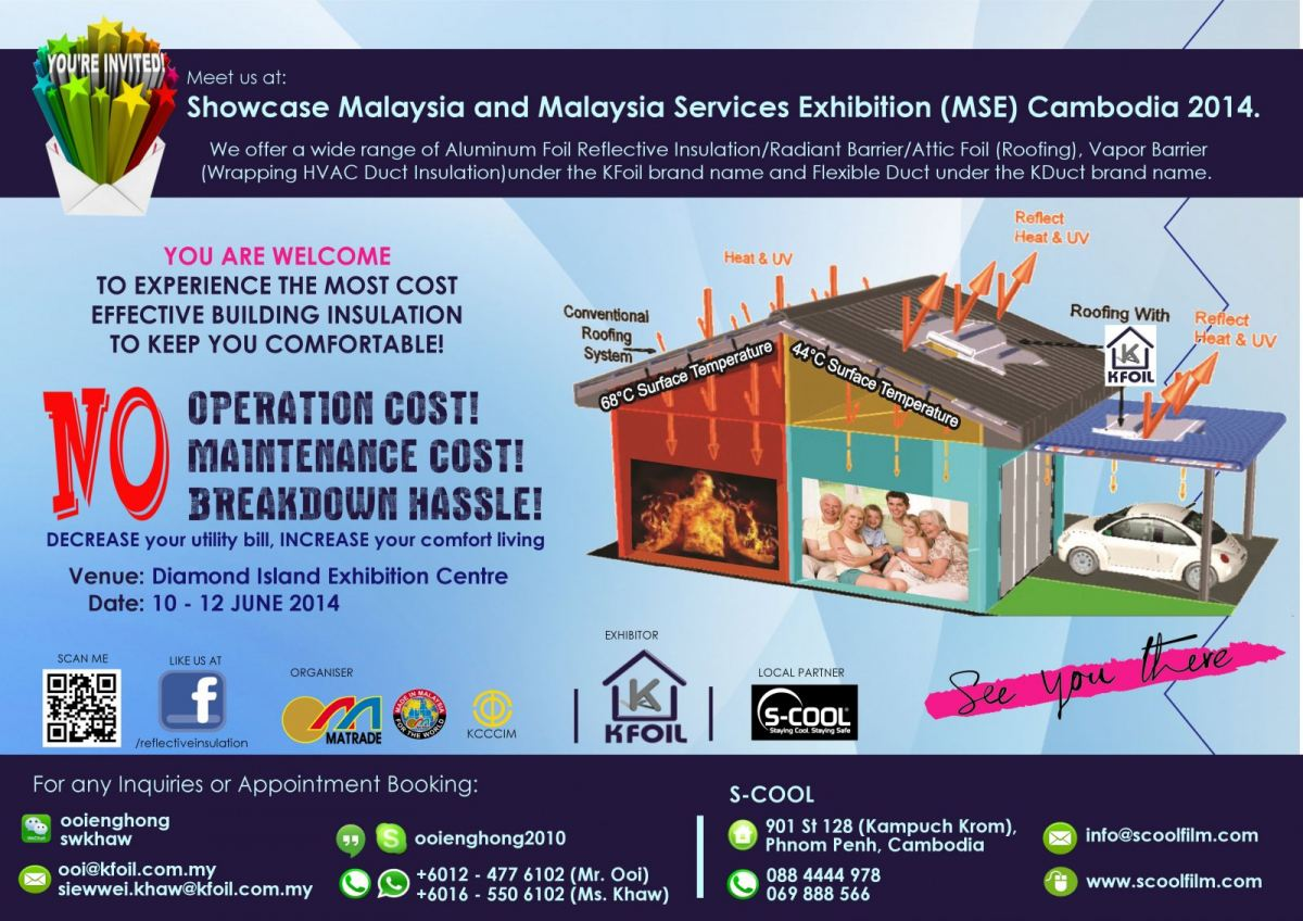 Showcase Malaysia & Malaysia Services Exhibition (MSE) Cambodia 2014