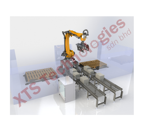 Carton Palletizing Station by XTS Technologies