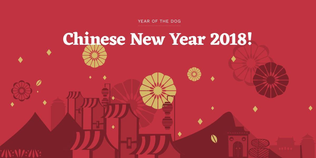 Chinese New Year 2018 Closure Notice