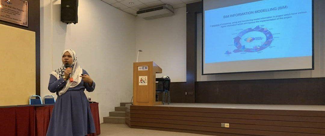 MTCFS C&S Engineer Ir. Dr. Salmaliza Salleh Speaks on BIM at Wisma IEM