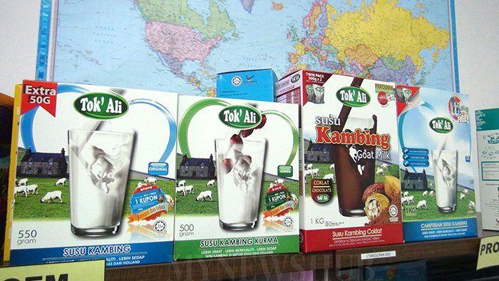 Kilang Susu Kambing RM5j: CSM Sasar 40K Kotak Sehari