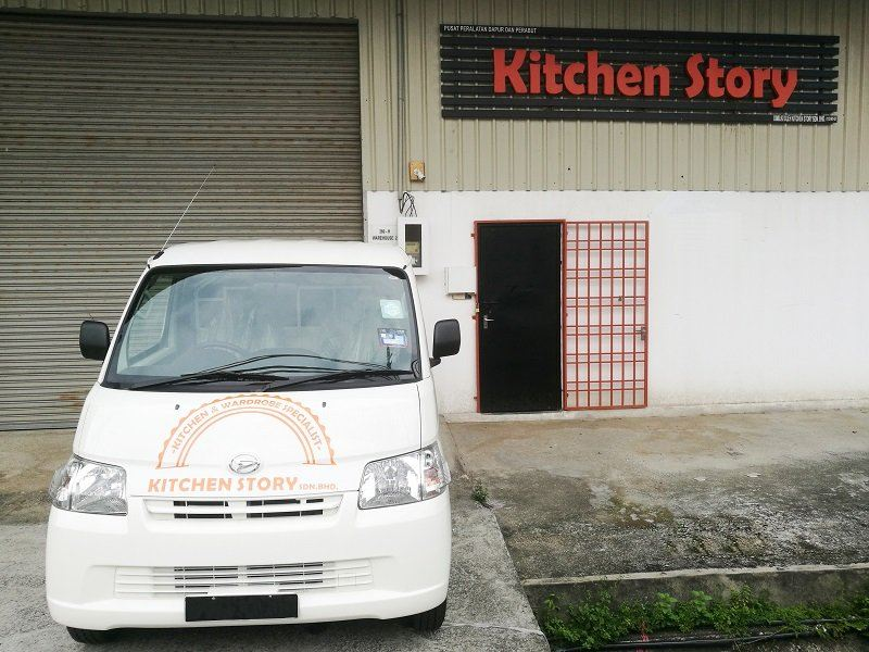 Kitchen Story After Sales Service Van