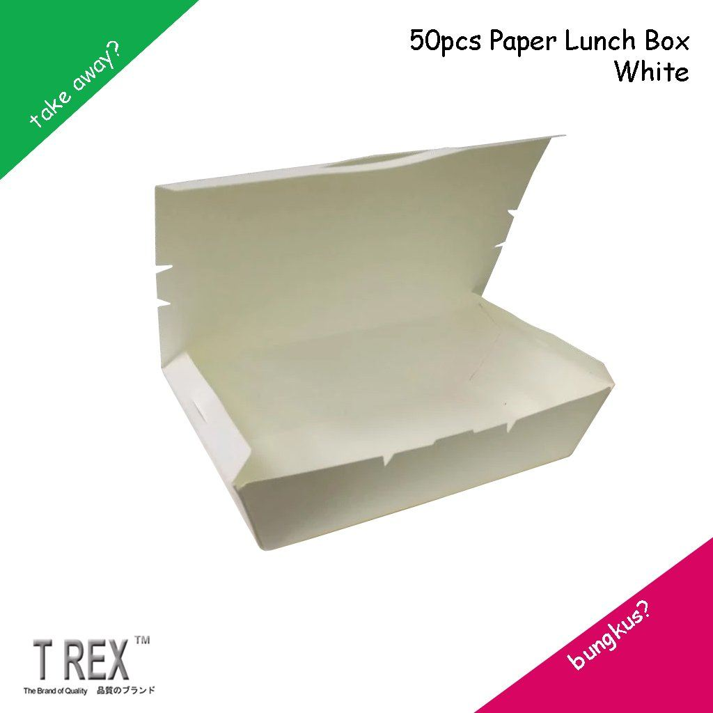 DISPOSABLE PAPER LUNCH BOX