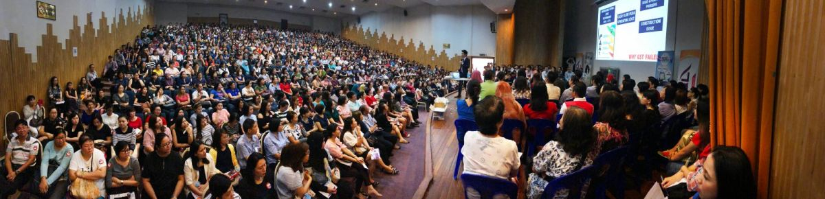 1000 Attended SQL Account GST 6% to 0% Seminar in Kota Kinabalu