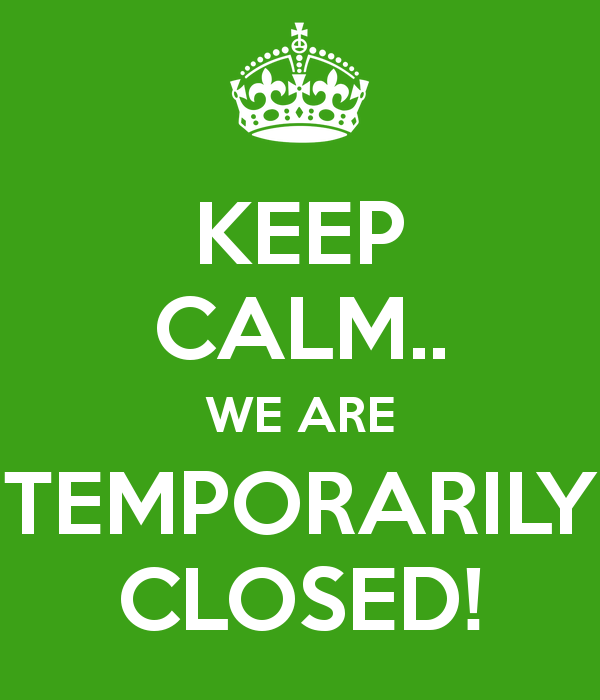 OFFICE TEMPORARY CLOSURE - MOVEMENT ORDER 2020
